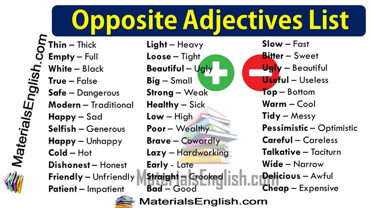 list of adjectives - 1280×720