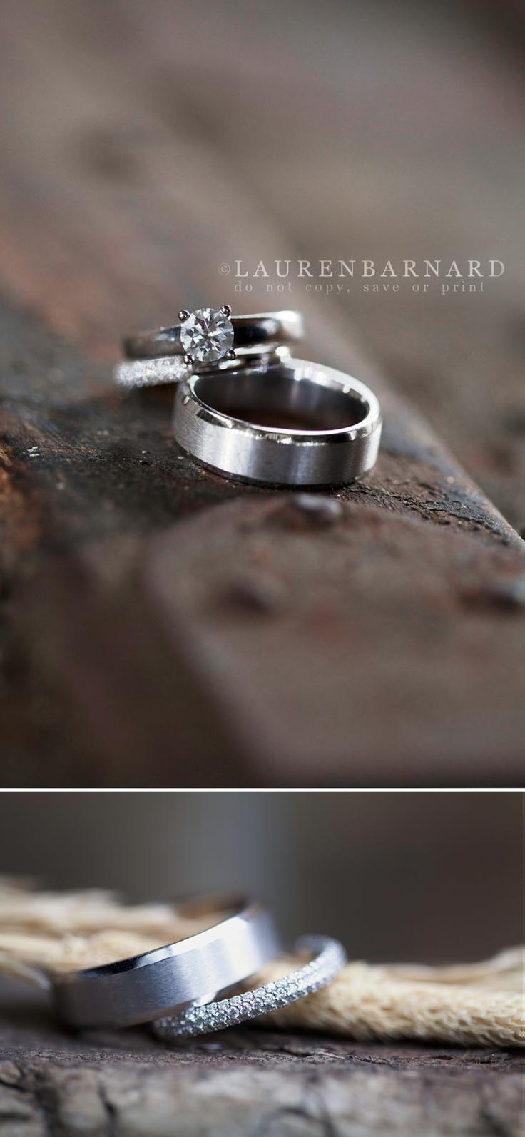 Lauren Barnard Photography #wedding #weddingrings #ringshot