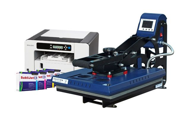 Ricoh SG3110DN Printer & Heat Press Package - Joto Inc. Bringing Images To Life!™