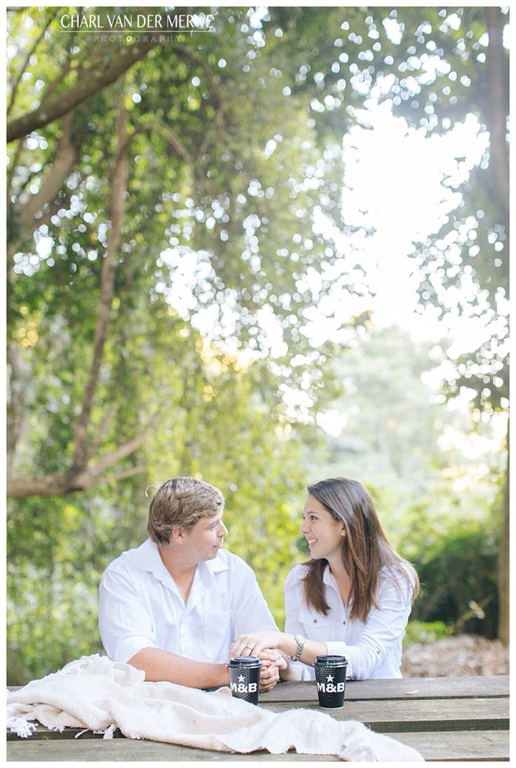 Beautiful coffee date couple session! Photo by Charl vd Merwe Photography