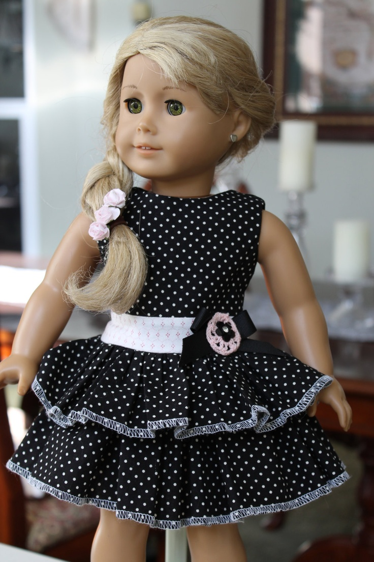 American Girl Sundress 18 inch doll dress Madame by LoveEllieBean, $20.00