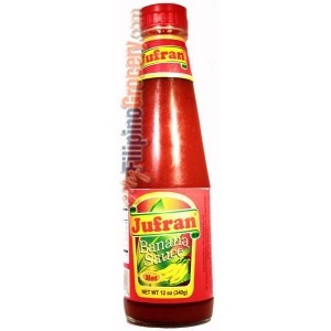 Jufran Banana Sauce / Banana Ketchup This is the REAL deal and there ...