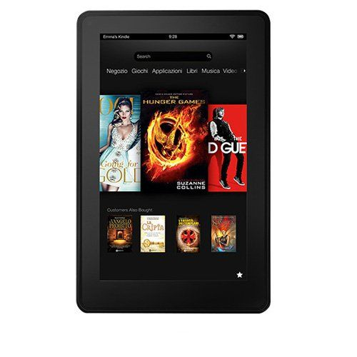Kindle Fire 7″, LCD Display, Wi-Fi, 8 GB – With Special OffersAmazon UK