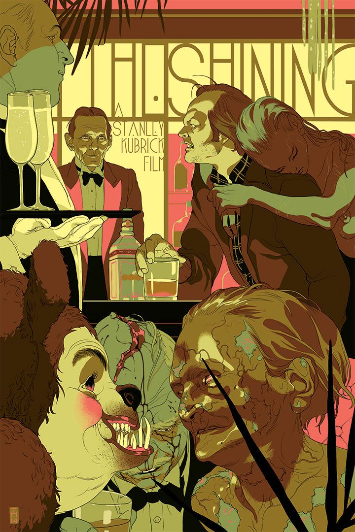 The Shining - The Overlook Hotel - by Tomer Hanuka