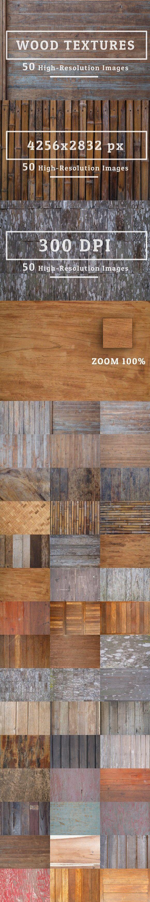 50 Wood Texture Background Set 10. Textures. $12.00