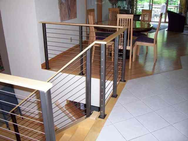 Best How To Connect Wood Railing To Metal Post Google Search 400 x 300