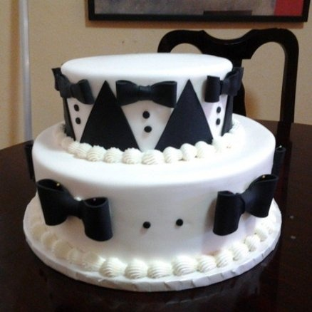 17 Best Images About Tuxedo Cake On Pinterest Decorating