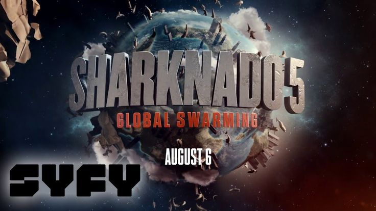Sharknado 5 Global Warming: Teaser Trailer | SYFY