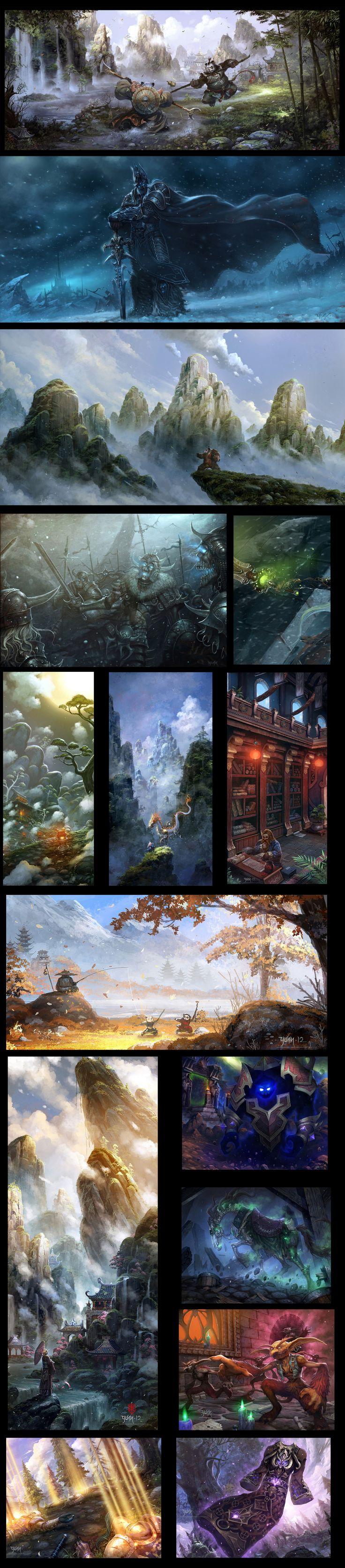 Warcraft Series by ChaoyuanXu on deviantART
