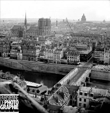 Medieval Paris Before Baron Haussmann's Transformation 7