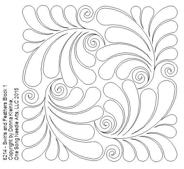 Moonbear Longarm Quilting Panto Designs