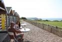 Seasidey beach huts at Cornwall's family-friendly St Moritz hotel