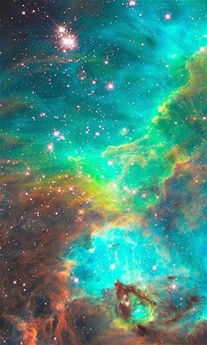 Hubble Space Telescope images...This nebula is about 170,000 light-years away.