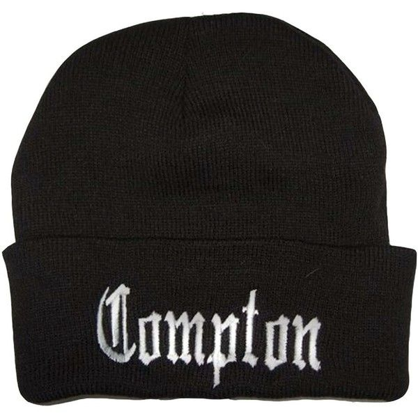 City Compton Easy E Los Angeles Beanie:Amazon:Clothing ($12) ❤ liked on Polyvore featuring accessories, hats, beanie and beanie hats