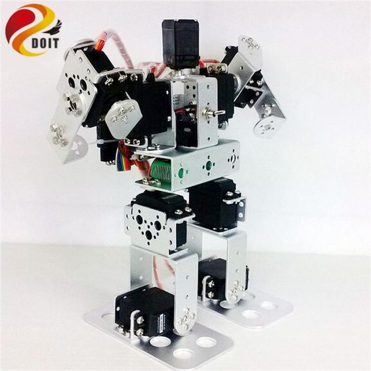 9DOF Biped Educational Humanoid Robot Kit with Servo