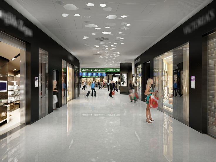 The restyling of Malpensa Airport for #Expo2015 - the commercial gallery