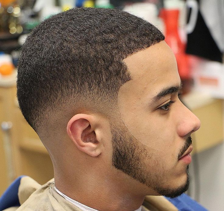 Very Low Fade Haircut With Light Hair Image