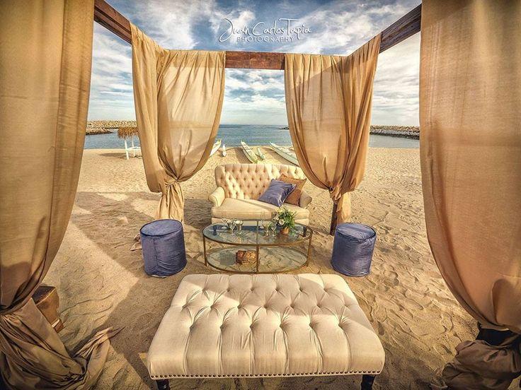 Elegant Set Up on the Beach #ElGanzo #Cabo #EventDesignbyMariannaIdirin