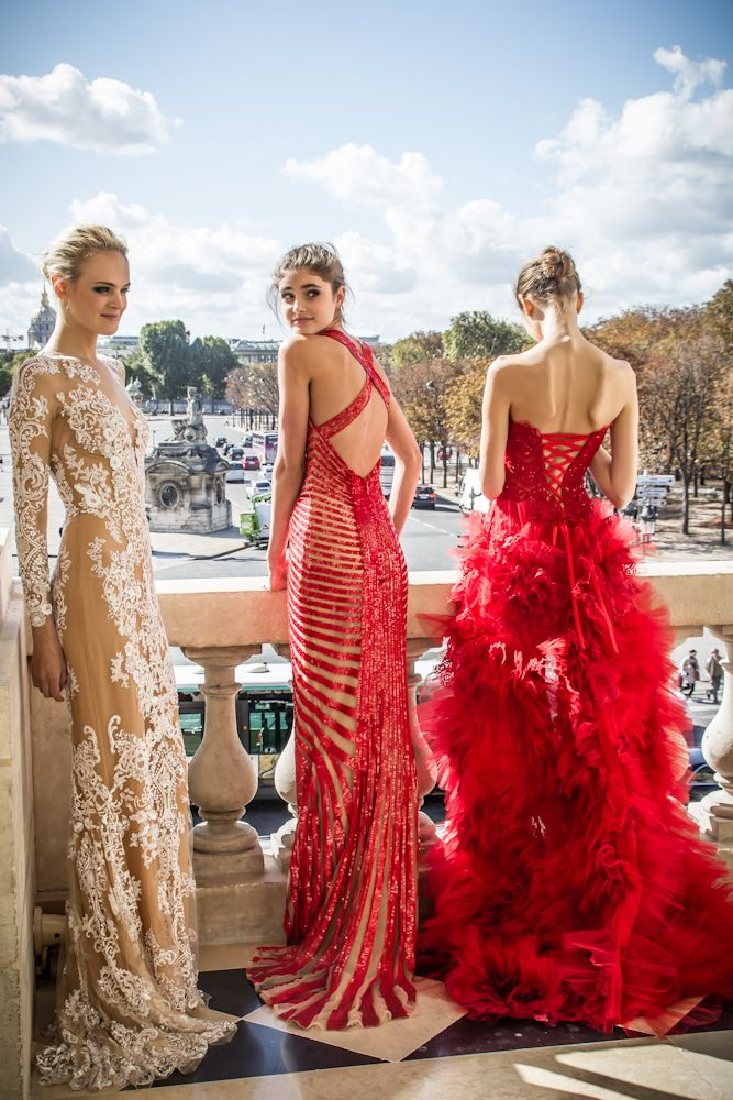 Zuhair Murad Haute Couture haute couture dress runaway catwalk red carpet glamour designer gown