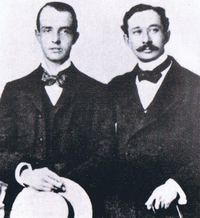 Robert Ross (Robbie) et Reginald Turner