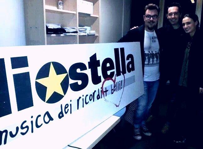 Fabio e Valentina di #xf7 con Filippo Verni.