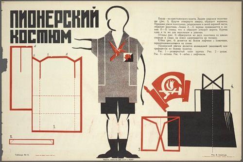 Советская символика, пионерская атрибутика