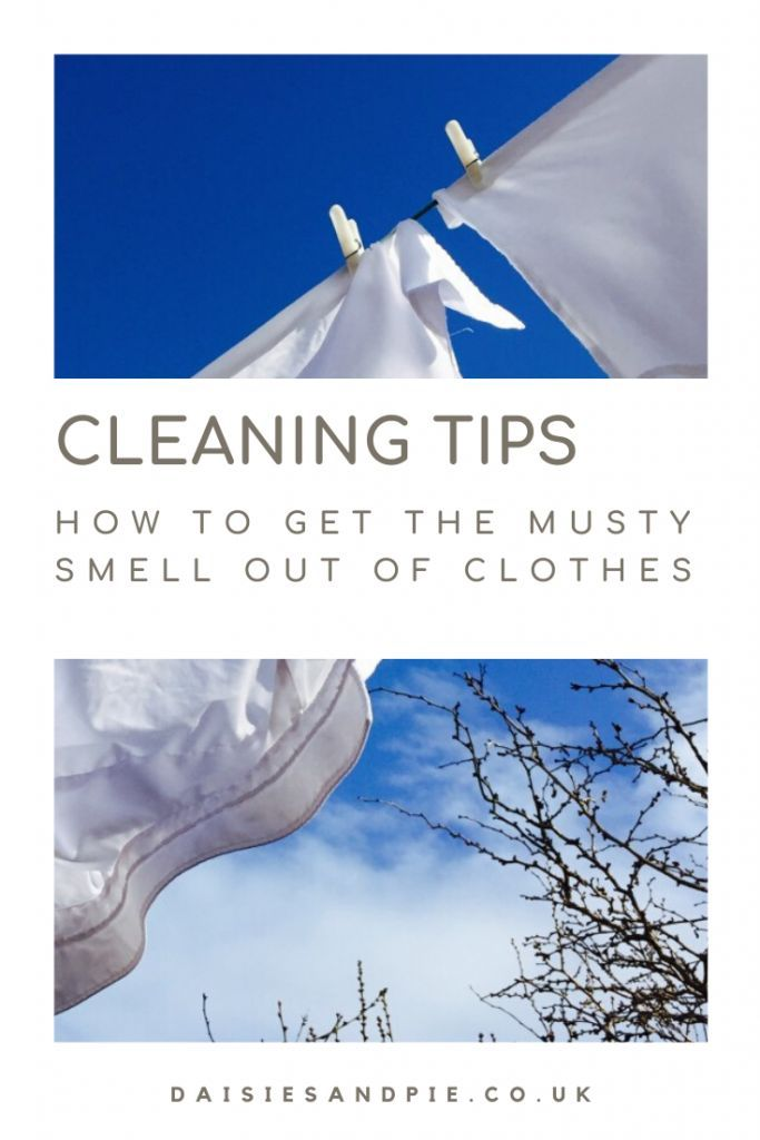 How To Get The Musty Smell Out Of Clothes Smelly Laundry Clean