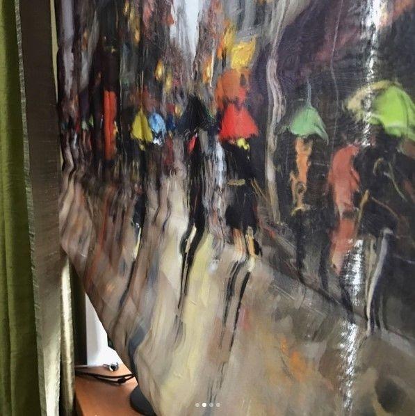 #римская_штора из #ткани PARIS, коллекция Digital Art складская программа #Galleria_ArbenДизайн @poshivvip.ru #fabric #декорокна #ткань
