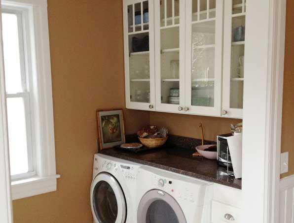Cliqstudios Kitchen Cabinets C 1 O Dayton Painted White 596 453 Laundry Area Pinterest