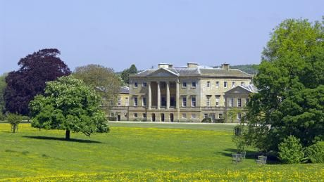 View across the parkland at Basildon Park, Berkshire. Take a picnic. Downtown Abbey filmed here. Use national trust card.