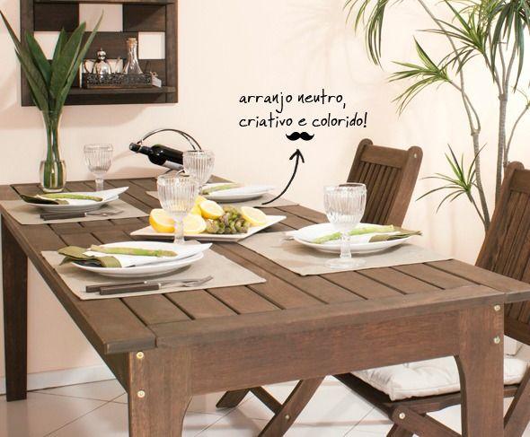 Cantinho da churrasqueira! Especial Dia dos Pais. Arranjo de mesa e muito carinho dedicado em todos os detalhes.
