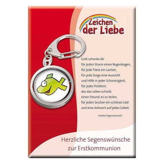 Witziger Schlüsselanhänger zur #Kommunion - Ein geeignetes #Geschenk zur #Erstkommunion …: