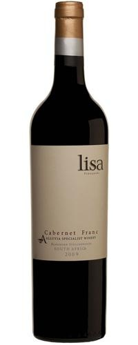 Lisa Cabernet Franc 2009 one of the top wines of the Alluvia Wine Estate