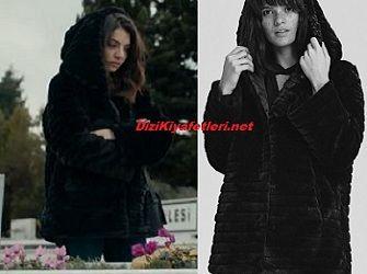 4ef564a666250 Çarpışma Dizisi Cemre Siyah mont #dizi #kıyafet #fashion #erkencikuş  #dizikıyafet #