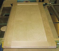 How to build shaker style cabinet doors with a table saw