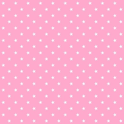 FREE printable happy pink star paper