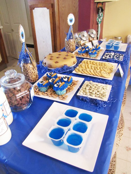 Cookie monster party. I can have a cookie monster party when I turn 27 right?