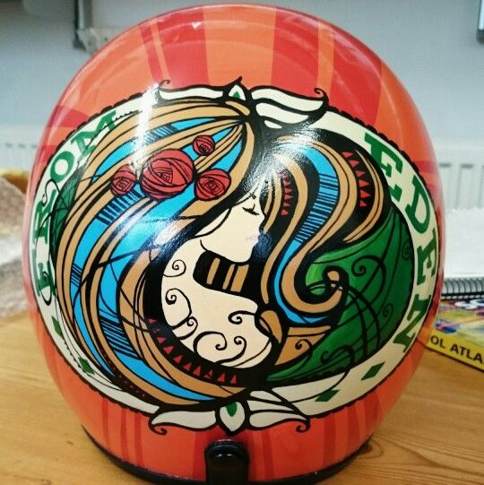 Acrylic Paint On Helmet