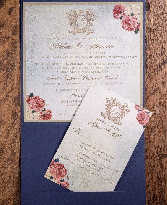 Royal Invitation Royal Wedding Invitation Royal Invitations