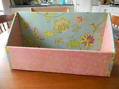 Cute little containers using modge podge and...cardboard boxes.: And Cardboard Boxes, Problems Solver, Repurpo Items, Covers Boxes, Cereal Boxes, Modg Podge Storage Boxes, Podge Boxes, Paper Crafts, A Mi Paper