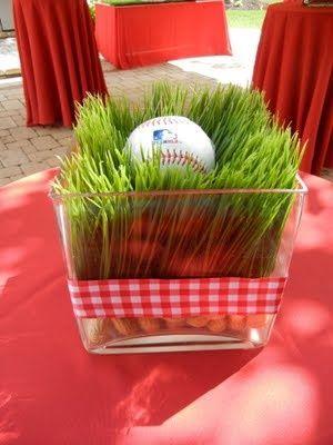 baseball / playoff / world series party ideas