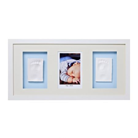 Baby Memory Prints Trio Çerçeve - Beyaz
