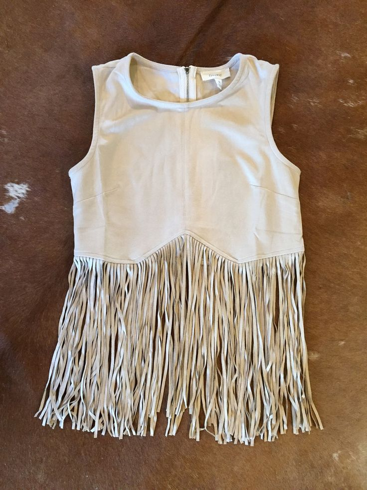 FRINGED SUEDE CROP TOP, boho, bohemian style, hippie style