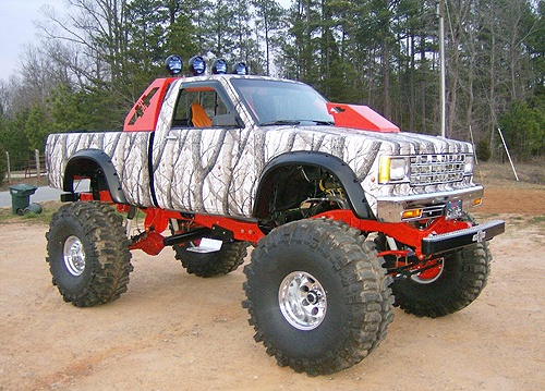 even though Im a ford girl… I must admit I do love this truck.