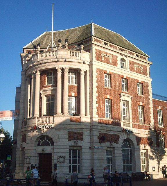 National Westminster Bank building, Eastbourne town centre