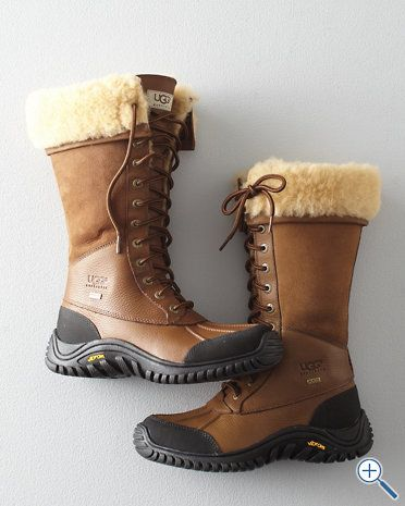 UGG Adirondack Boot - the ONLY UGGs I would ever consider wearing in public.
