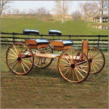Buckboard, Horse Drawn Wagons - Base Price $5,695.00 | A Wagon Wheel