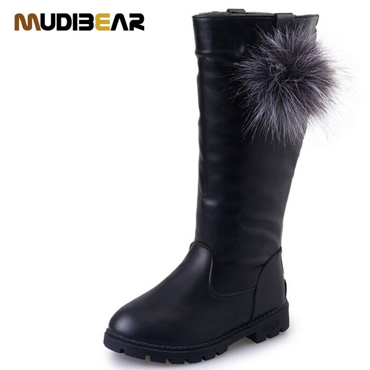 Children's Boot Leisure Wild Boots For Girls Princess  Kids Leather Rubber Female Children's Boot Winter Boots For Girls Quality #>=#>=#>=#>=#> Click on the pin to check out discount price, color, size, shipping, etc. Save and like it!