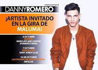 RADIO   CORAZÓN  MUSICAL  TV: DANNY ROMERO: ARTISTA INVITADO EN LA GIRA DE MALUM...