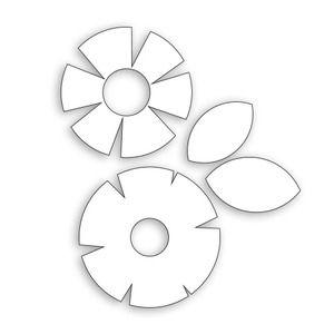 *Simon Says Stamp STAMPtember® WHIMSICAL FLOWERS Craft Dies 111311